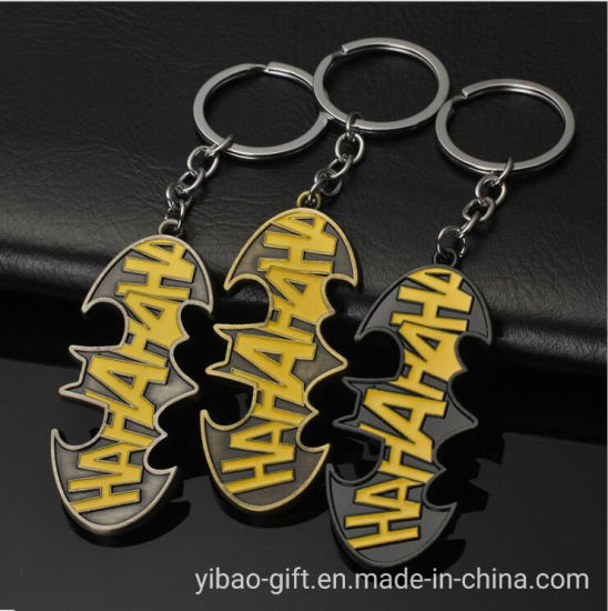 Hot Selling Custom Avenger American Captain Card Holder Accessories Key Chain for Souvenir (YB-MK-13)