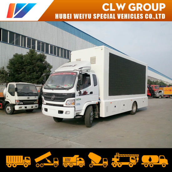 P4 P5 P6 Waterproof Outdoor Full Color Display LED Advertising Truck Scrolling Light Box Truck