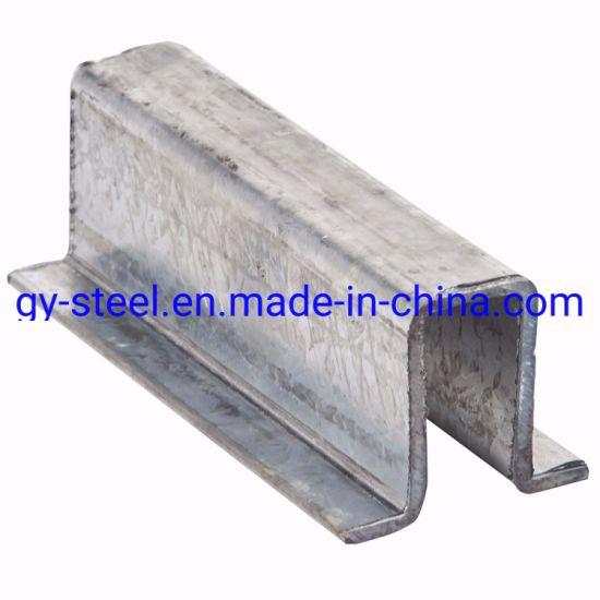 Light Steel Beam Omega Profile Steel Channel Galvanized Furring Channel