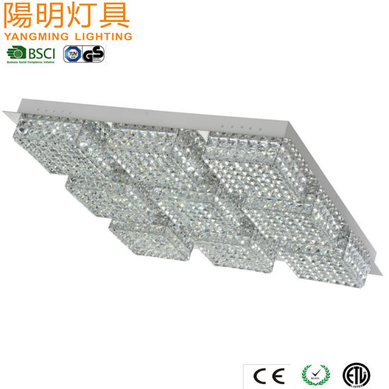 Large Square LED Ceiling Lamp for Hotel / Simplicity Style Modern Chandelier pictures & photos