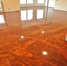 China Metallic Epoxy Flooring Garage