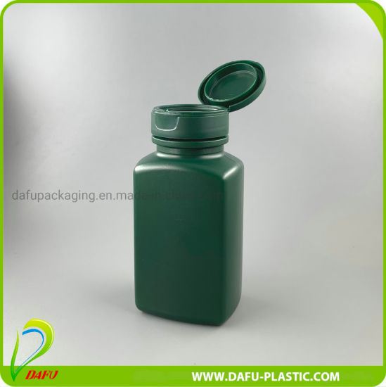 250ml Medical Products HDPE Plastic Container with Flip Top Cap