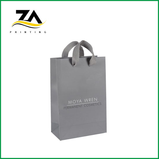 High Quality Paper Bag Paper Gift Bags with Ribbon Handles