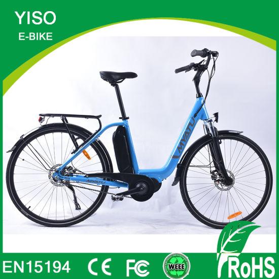 OEM E Bike 48V 1000W Bafang MID Drive Gates Belt Hunting Electric Bike