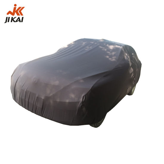 Auto Cover Professional Dust Protection Spandex Car Cover for Sedan