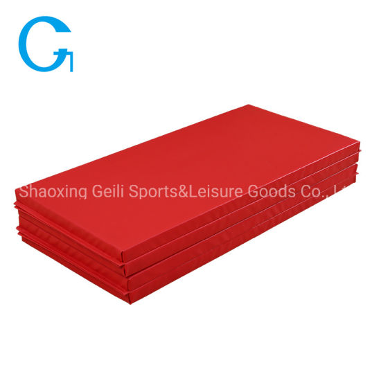Factory Direct Sale 4-Fold Gymnastics Mat Safe Material