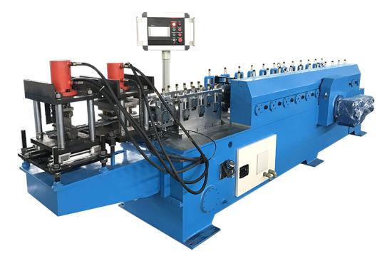 Metal Rolling Shutters Door Forming Machine Factory Lifetime Service! European Rolling Shutters Door Roll Roll Forming Machine Speed 30m/Min with ISO9001/Ce/Sg
