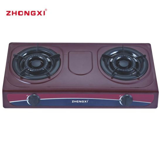 Automatic Ignition Cooker Cold Sheet Painting Table Top Gas Stove