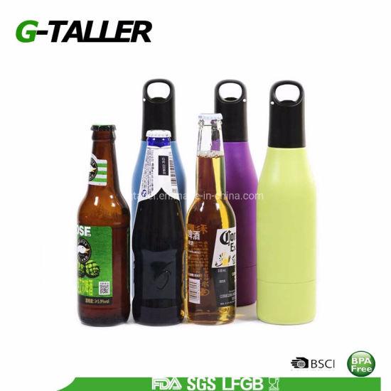 Standard and Long-Neck Beer Bottle Cooler Beer Holder Fits Most 12oz