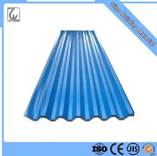 Pre Painted Oiled for Building Material Galvanized Corrugated Steel Sheet PPGI Sheet
