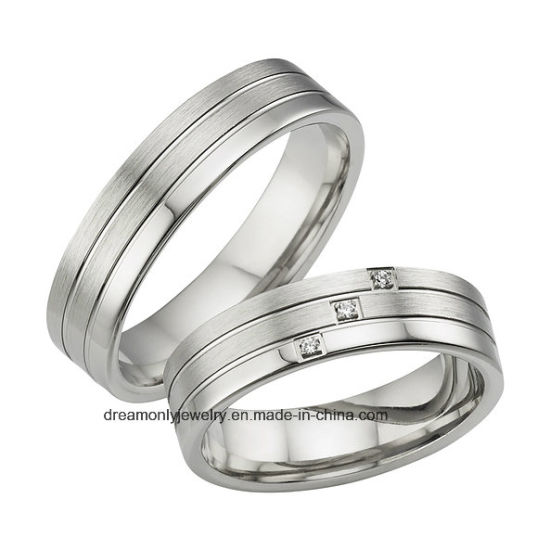 Costume Jewelry Silver Wedding Ring Cz