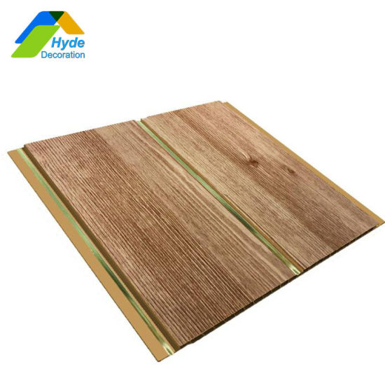 Wooden Colors Plastic PVC Ceilings and Wall Panels for Home Decoration DC-1076