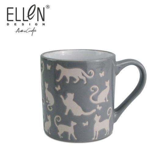 Promotional Gift Animals Design Ceramic Coffee Mug