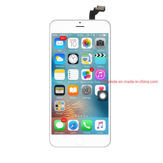 Mobile Phone LCD for iPhone / LCD Screen for iPhone 6 Plus Factory Price One by One Test