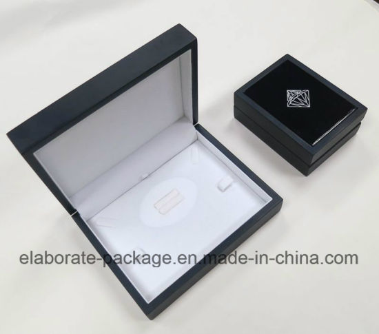 Nave Blue Wooden Handmade Jewellery Package Gift Box pictures & photos