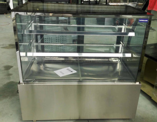 Market Series Refrigerated Bakery Case Cooler Stainless pictures & photos