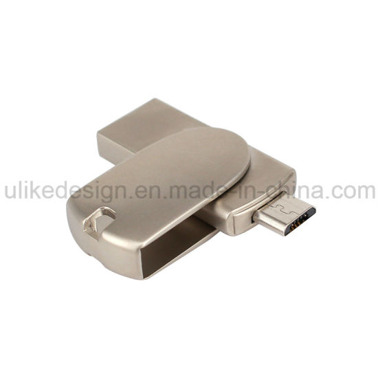 Mini Size USB Flash Driver Metal OTG USB 3.0 (UL-M059)