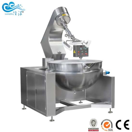 China Manufacturer of Planetary Type Industrial Sauce Cooking Machine with Mixer by Ce SGS Approved