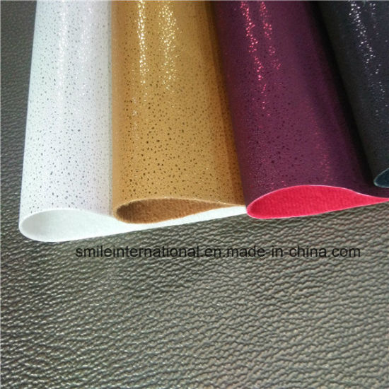 Four Colors PU for Shoes pictures & photos