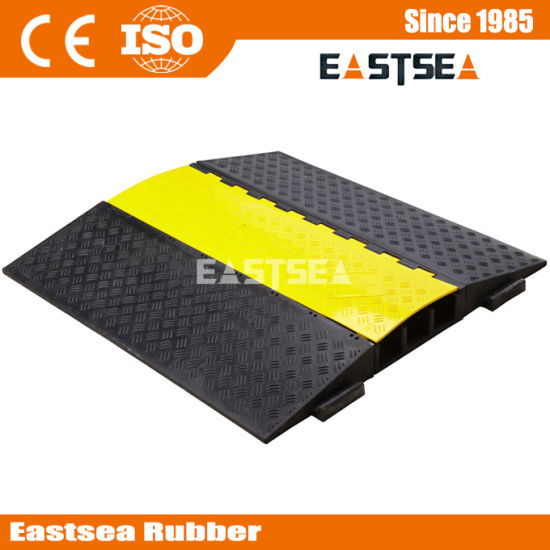 Road Safety 3 Channel AMS System PU Cable Protector
