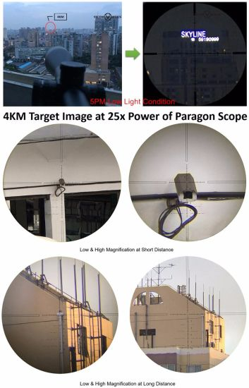 Vector Optics Paragon 6-30X56 Sf Tactical Rifle Scope with German Glass Vpa Reticle 1/10 Mil 1cm 0.1 Mrad Long Range Shooting Hunting pictures & photos