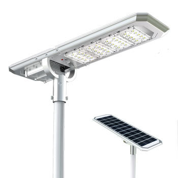 IP65 Outdoor Lamp, Solar Light Street Flood Lights with Pole Remote Control Security Lighting for Garden, Gutter, Pathway pictures & photos