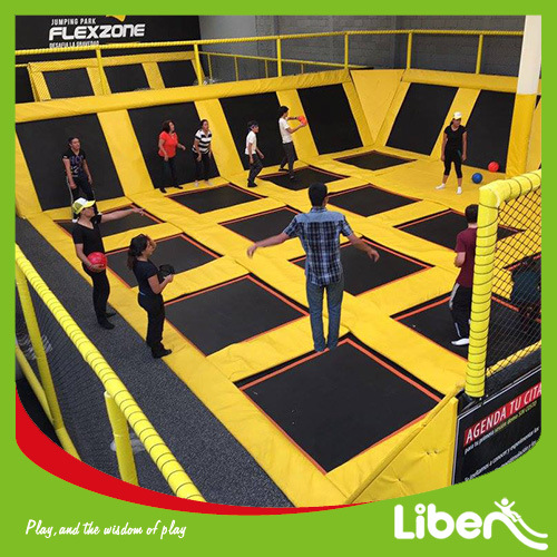 Dodge Ball Trampoline Park Mexico Indoor Trampoline Park pictures & photos