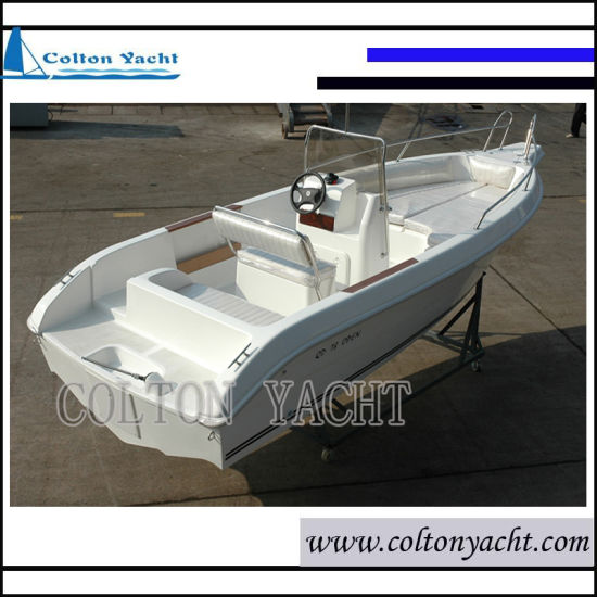 16FT Fiberglass Motor Boat and Speed Boat for 6 People