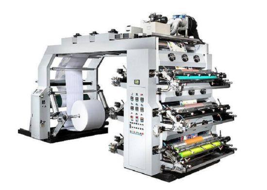 4/6/8 Color Flexo Printing Machine for Non-Woven