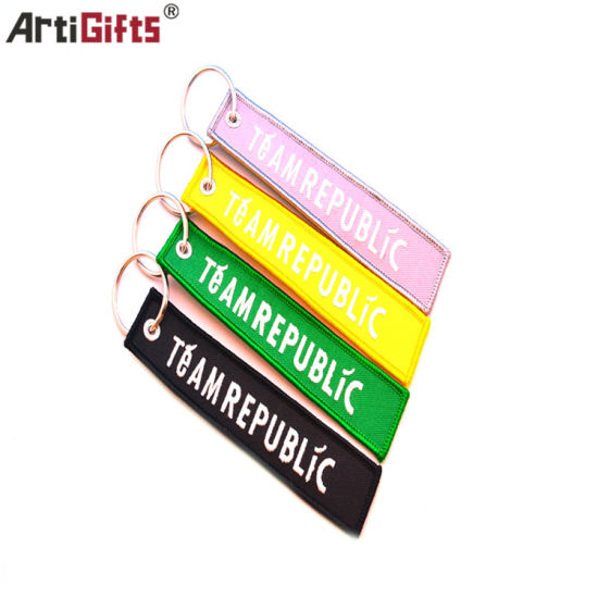 Customized Fashion Convenience Key Holder Embroidery pictures & photos