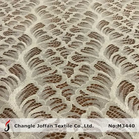 Soft Clothing Lace Fabric Bulk or Wholesale (M3440) pictures & photos