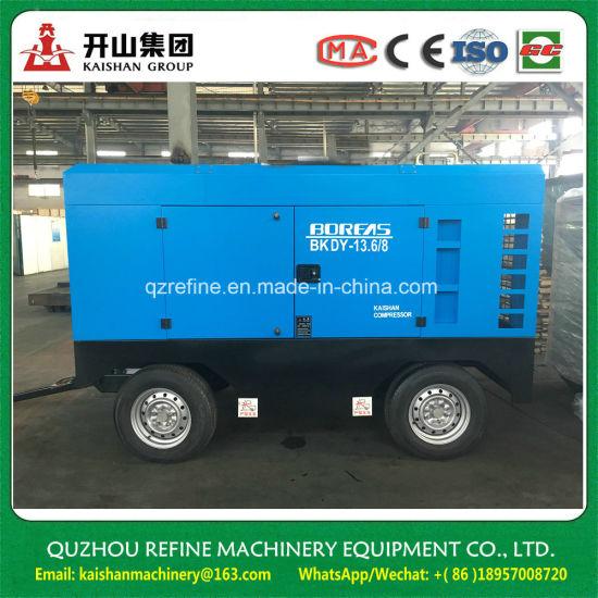 Kaishan Brand BKDY-13.6/8 Electric 4 Wheels Screw Air Compressor