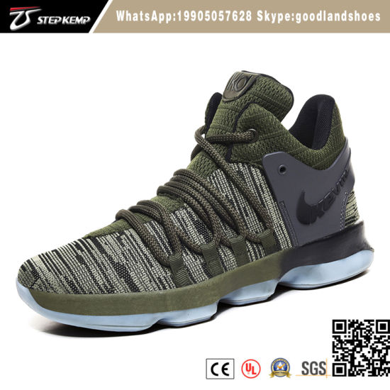 New Fashion Sneaker Fabric Upper Basketball Running Sport Shoes 6026