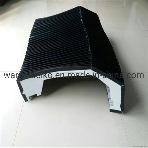 Plastic Material Accordion Flexible CNC Machine Bellow Cover
