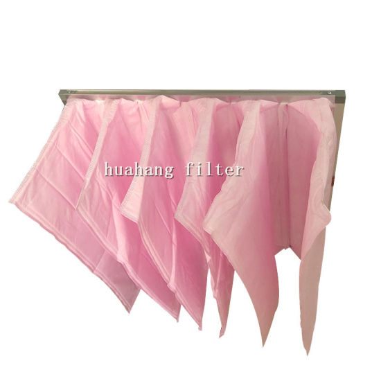 G3 G4 synthetic pocket air filter dust Collector air Filter Bags