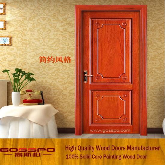 China Internal Room Door Wooden Interior Door For Bedroom Gsp2 056