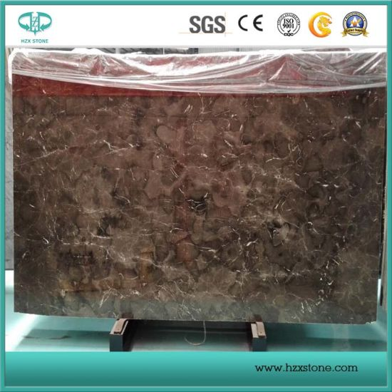 Polished Chinese Dark Emperador Marble Slabs/Flooring/Tiles/Paving/Wall Covering Brown Marble pictures & photos