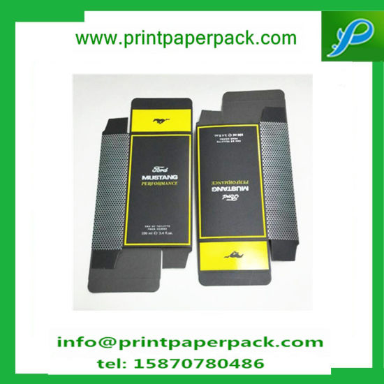 Customized Hot Stamping Mustang Perfume Box Cosmetic Paper Box