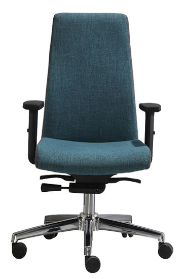 High Back Boss Chair with Headrest Chrome Base Manager Office Chair (LDG-839A) pictures & photos