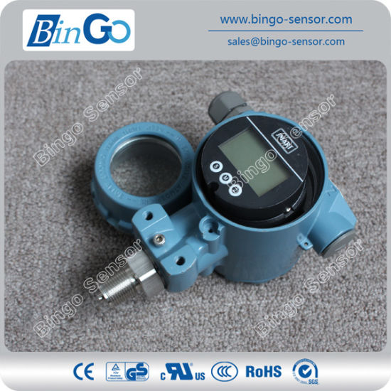 Hart Protocol Current Output Pressure Transducer Indicator with LCD Display