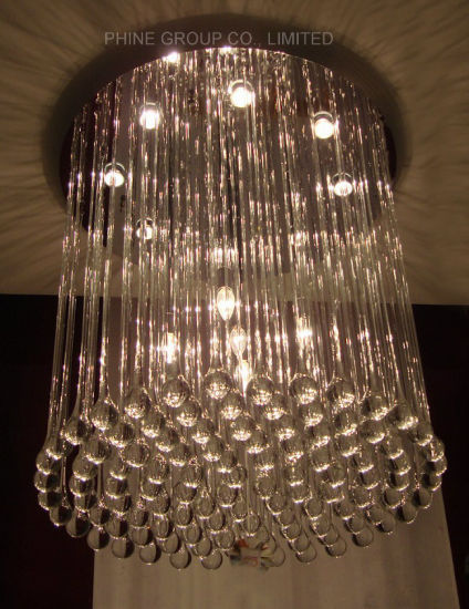 Living Room Round Crystal Ceiling Lamp with Ce, UL Approved pictures & photos