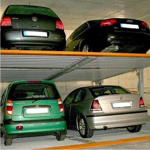 Subway Hydraulic Pit Inclined Parking Lifts