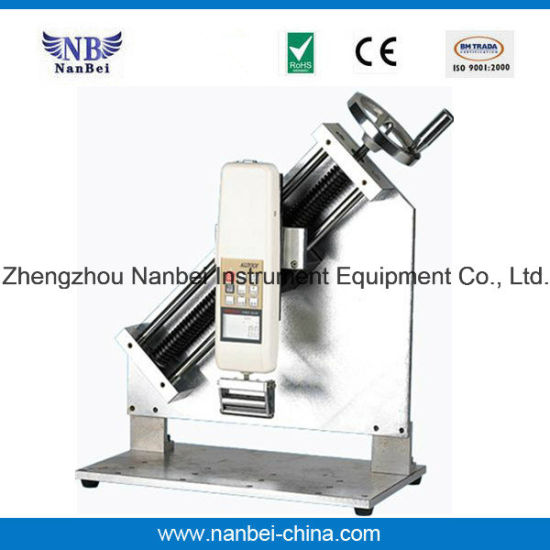 Nanbei Brand Aeh Electric Horizontal Test Stand pictures & photos