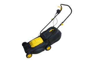 Light Weight Garden Lawn Mower with Foldable Handle Bar