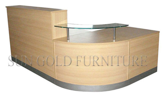 china semicircular reception desk front desk office furniture sz