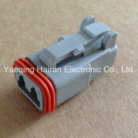 Dt06-2s 2 Pin Female Waterproof Auto Connector