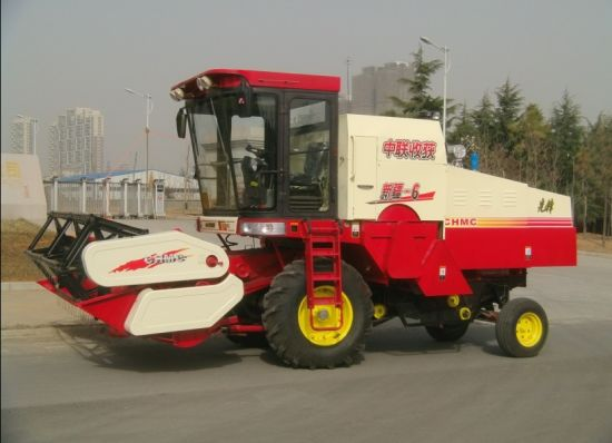 4lz-6 Rice and Wheat Combine Harvester pictures & photos