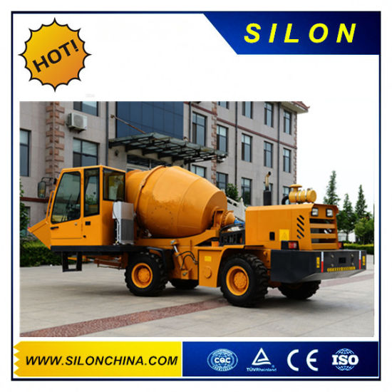 1.0m3 2.0m3 3.0m3 4.0m3 5.0m3 Mobile Concrete Mixer Truck Self-Loading Concrete Mixer Truck/Self Loading Cement Mixer Truck