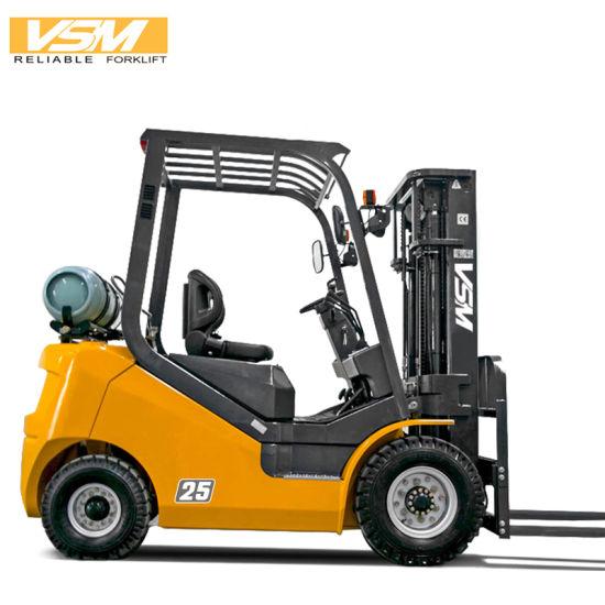 Vsm 1.5-3.5 Ton Gasoline LPG Forklift Truck with Japanese Nissan Engine