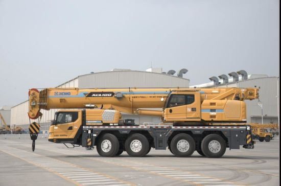 Chinese Official Xct80 Brand New Truck Crane with Low Price